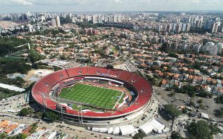 Το στάδιο Μορούμπι στο Σάο Πάολο θα φιλοξενήσει στις 3.30 τα ξημερώματα του Σαββάτου τον εναρκτήριο αγώνα μεταξύ της Βραζιλίας και της Βολιβίας.