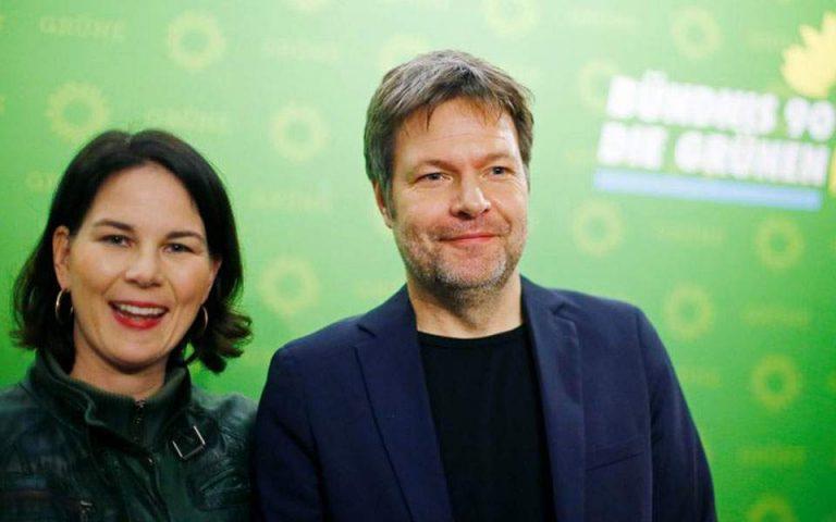 Γερμανία: Σαφές προβάδισμα για τους Πράσινους δίνει νέα δημοσκόπηση – Στην 4η θέση το SPD