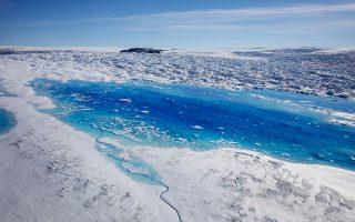 Οι συνθήκες στην Αρκτική δεν είναι στατικές, οπότε το Σάββατο ψυχρές μάζες αέρα επιβράδυναν την τήξη των πάγων.