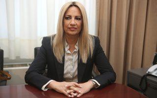 «Εγινε ένα βήμα, αλλά χρειάζο-νται πιο τολμηρές ενέργειες», είπε η κ. Γεννηματά, σχολιάζοντας  τα αποτελέσματα της Συνόδου  σχετικά με τα ελληνοτουρκικά.