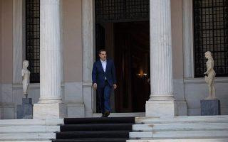 Το μείζον πρόβλημα για τον κ. Τσίπρα είναι ότι επί της ουσίας καλείται να διαχειριστεί την επερχόμενη προεκλογική περίοδο με αφήγημα ανάλογο εκείνου που είχε θέσει και αποδοκιμάστηκε προ δύο εβδομάδων στην ευρωκάλπη. AP/Petros Giannakouris