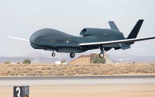 Το UAV τύπου RQ-4D, γνωστό και ως Global Hawk.