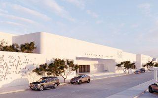Τα σχέδια του νέου αεροδρομίου είναι εμπνευσμένα από τους περιστερώνες του Αιγαίου.