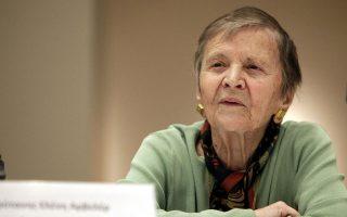 Η Ελένη Γλύκατζη-Αρβελέρ μιλάει στην «Κ» για την Ελλάδα και τους Ελληνες, «έναν λαό ταλαντούχο αλλά με ελαττώματα»