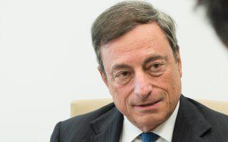Αρνητικό πρόσημο εμφάνισαν για πρώτη φορά στην Ιστορία και τα 10ετή γαλλικά ομόλογα, ύστερα από τη δέσμευση του προέδρου της Ευρωπαϊκής Κεντρικής Τράπεζας (ΕΚΤ) Μάριο Ντράγκι πως θα στηρίξει την Ευρωζώνη εάν καταστεί αναγκαίο.