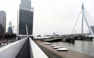 Τα κεντρικά γραφεία της KPN στο Ρότερνταμ.