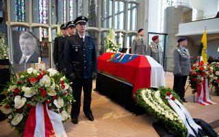 Το γερμανικό κράτος τίμησε τον Βάλτερ Λίμπκε με μια τελετή μνήμης στη Βουλή της Βαυαρίας. Reuters