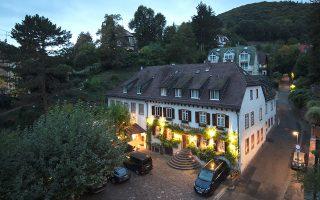 Το πολυτελές ξενοδοχείο Die Hirschgasse στη Χαϊδελβέργη.