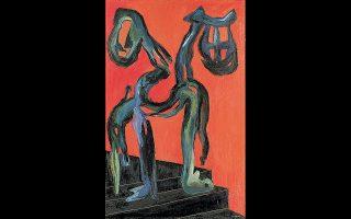 Εργο του Γιάννη Γαΐτη από την έκθεση στο MOMus - Μουσείο Αλεξ Μυλωνά.