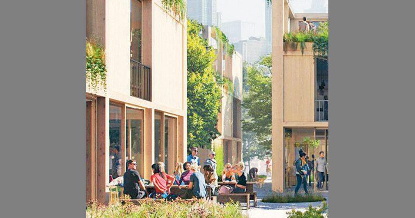 Αποψη του Urban Village Project.