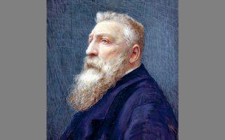 Το πορτρέτο του Ροντέν.