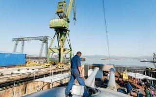 Το σχέδιο των επενδυτών δεν περιλαμβάνει μόνο επισκευαστική δραστηριότητα, αλλά και τη ναυπήγηση νεότευκτων πλοίων.
