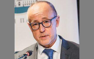 Ο διευθύνων σύμβουλος της Εθνικής Πανγαία κ. Αρις Καρυτινός.