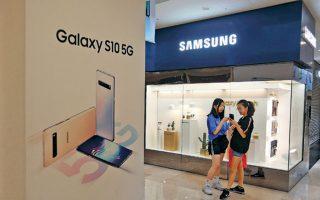 Το μερίδιο της Samsung στην Κίνα, η οποία αποτελεί τη μεγαλύτερη αγορά για smartphones παγκοσμίως, έχει συρρικνωθεί σε μόλις 1%, ενώ το 2013 ήταν 20%.