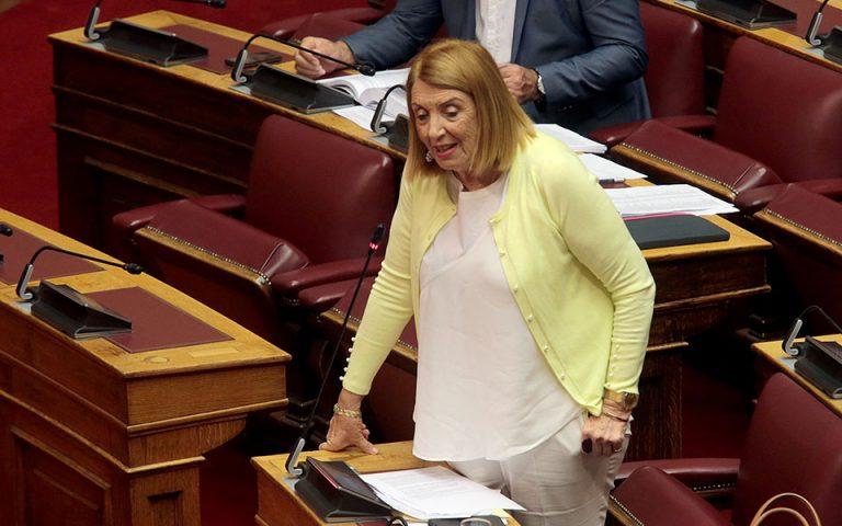 Αποσύρεται από τις εκλογές μετά την κατακραυγή η Τασία Χριστοδουλοπούλου