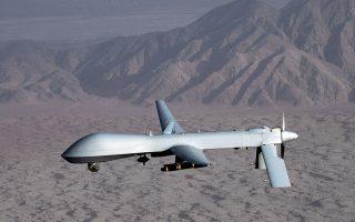 Την Πέμπτη το Ιράν κατέρριψε ένα αμερικανικό κατασκοπευτικό μη επανδρωμένο σκάφος, «Global Hawk». Στη φωτογραφία το αμερικανικό drone «MQ-1 Predator».