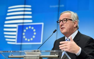 FILE PHOTO: European Commission President Jean-Claude Juncker attends a news conference after a European Union leaders summit in Brussels, Belgium December 14, 2018. REUTERS/Eric Vidal/File Photo