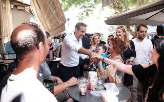 Ο Κυριάκος Μητσοτάκης πραγματοποιεί από χθες τριήμερη περιοδεία στη Θράκη και στη Μακεδονία.