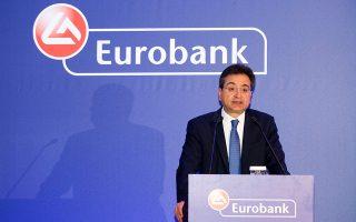 Ο διευθύνων σύμβουλος της Eurobank κ. Φωκίων Καραβίας, υπογράμμισε ότι η κίνηση αυτή αποτελεί μετά τη συγχώνευση Eurobank - Grivalia, το δεύτερο ορόσημο για την εκτέλεση του εμπροσθοβαρούς σχεδίου εξυγίανσης.