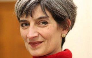 Η πρεσβευτής της Μ. Βρετανίας Κέιτ Σμιθ.