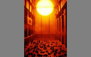 H ιστορική εγκατάσταση του Ολαφουρ Ελίασον στην Tate Modern το 2003.