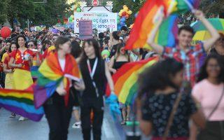 Κόσμος συμμετέχει στην ετήσια παρέλαση Athens Pride 2019 της ομοφυλόφιλης κοινότητας, η οποία μεταξύ άλλων τιμά τη μνήμη του Ζακ Κωστόπουλου, με κεντρικό σύνθημα
