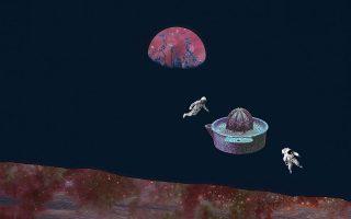 Η The Project Gallery παρουσιάζει την ομαδική έκθεση «Man on the moon» - Ο άνθρωπος στο Φεγγάρι 50 χρόνια μετά, σε επιμέλεια του Αλέξανδρου Μαγκανιώτη και κείμενo του Γιάννη Μπόλη. Στη φωτογραφία, έργο της Βούλας Φερεντίνου. Διάρκεια έκθεσης: έως 21 Σεπτεμβρίου. Πλατεία Θεάτρου 14, Αθήνα.
