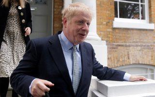 PM hopeful Boris Johnson leaves his home in London, Britain, June 13, 2019. REUTERS/Simon Dawson