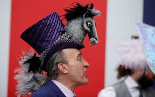 Horse Racing - Royal Ascot - Ascot Racecourse, Ascot, Britain - June 18, 2019   Racegoer at Ascot   Action Images via Reuters/John Sibley