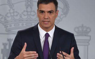 Ο Πέδρο Σάντσεθ, στην πρόσφατη σύνοδο χωρών της Μεσογείου, δήλωσε ότι η άνοδος της θερμοκρασίας επηρεάζει την πιο σταθερή πηγή εσόδων της ισπανικής οικονομίας.