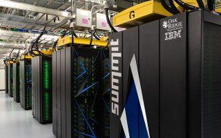 Ο υπερυπολογιστής Summit.