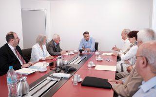 Ο κ. Μητσοτάκης συναντήθηκε χθες με τον πρόεδρο και το Δ.Σ. της Ανώτατης Συνομοσπονδίας Πολυτέκνων Ελλάδος.