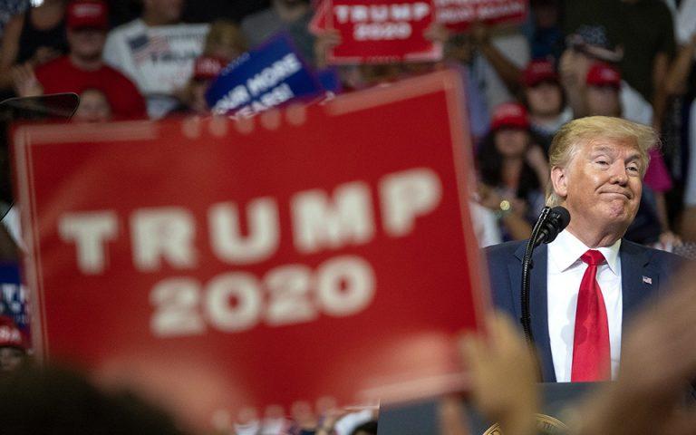 Ντ. Τραμπ: Αρχίζω επίσημα την εκστρατεία μου για δεύτερη θητεία