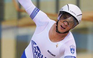 Ο Χρήστος Βολικάκης τερμάτισε πρώτος στο σκρατς με χρόνο 17.57.