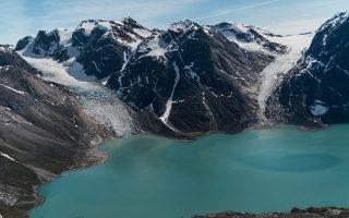 Το ίζημα που καταλήγει στη θάλασσα από τους παγετώνες της Γροιλανδίας είναι ικανό να καλύψει μεγάλο ποσοστό των αναγκών σε άμμο.