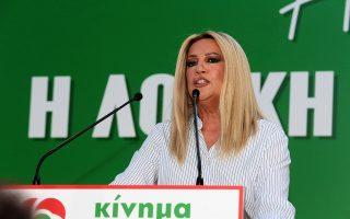 Νέα σφοδρή επίθεση της κ. Γεννηματά, χθες, σε ΣΥΡΙΖΑ και Ν.Δ.