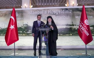 Τον νέο δήμαρχο Κωνσταντινούπολης Εκρέμ Ιμάμογλου επισκέφθηκε ο Οικουμενικός Πατριάρχης κ.κ. Βαρθολομαίος, ο οποίος εξέφρασε την ευχή να πορευθεί «με βάση τις αρχές του ειλικρινούς διαλόγου με όλες τις συνιστώσες της κοινωνίας».