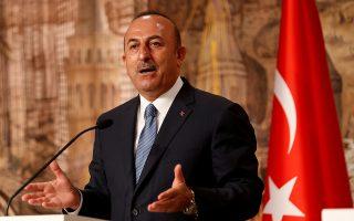 «Στην Ανατολική Μεσόγειο οι Ελληνοκύπριοι δεν μπορούν να κάνουν κανένα βήμα». είπε ο κ. Τσαβούσογλου.