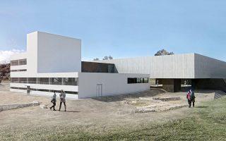 Υπερυψωμένο από το έδαφος, με ανοιχτό αρχαιολογικό χώρο και αίθριο στο κέντρο του, θα είναι το νέο Αρχαιολογικό Μουσείο Σπάρτης, σύμφωνα με την πρόταση που διακρίθηκε στον αρχιτεκτονικό διαγωνισμό της Περιφέρειας Πελοποννήσου.