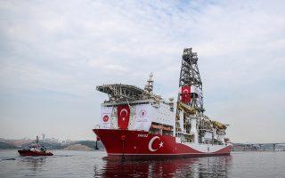 Αναφερόμενος στις νέες γεωτρήσεις ο Ταγίπ Ερντογάν είπε: «Τα πλωτά γεωτρύπανά μας διεξάγουν επί του παρόντος διερευνητικές εργασίες με ένα συντονισμένο τρόπο στο πλαίσιο του δικού μας οδικού χάρτη».