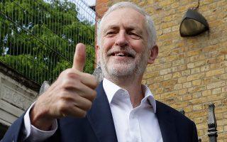Ο ηγέτης των Εργατικών, Τζέρεμι Κόρμπιν, κάλεσε τους ψηφοφόρους να εμποδίσουν το Brexit.