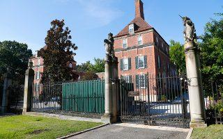 Η βρετανική πρεσβευτική κατοικία στην Ουάσιγκτον.