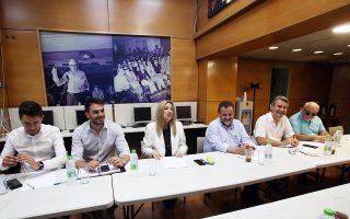 Η Φώφη Γεννηματά, στο Πολιτικό Συμβούλιο του ΚΙΝΑΛ, χθες, παραδέχθηκε ότι «δεν συντελέστηκε η επιδιωκόμενη ανατροπή των πολιτικών συσχετισμών».