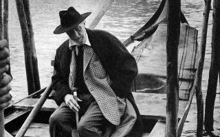 Ο Εζρα Πάουντ στη Βενετία, το 1963.