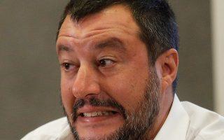 Ματέο Σαλβίνι, ένας πολιτικός φιλόζωος, αλλά μισάνθρωπος.