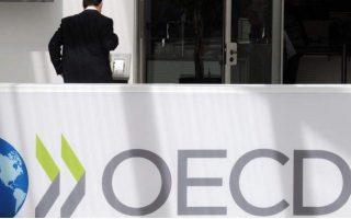 Ο ΟΟΣΑ βλέπει ελάχιστη δημοσιονομική υποστήριξη στην Ευρωζώνη.