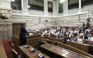 Δεν είναι τυχαίο ότι το τελευταίο διάστημα ο κ. Τσίπρας έχει εντάξει στις ομιλίες του τη λέξη «πειθαρχία» και ζητεί από τους βουλευτές του να λειτουργούν βάσει αρχών και θέσεων.