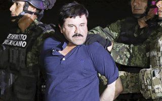 Ο επικεφαλής του καρτέλ ναρκωτικών της Σιναλόα, διαβόητος «Ελ Τσάπο», κατά κόσμον Χοακίν Γκουσμάν, καταδικάστηκε χθες σε ισόβια κάθειρξη από αμερικανικό δικαστήριο. Επειτα από δύο αποδράσεις στο Μεξικό, ο «Ελ Τσάπο» θα εγκλειστεί στη φυλακή υψίστης ασφαλείας στο Φλόρενς του Κολοράντο. Ο 62χρονος «βαρώνος» των ναρκωτικών υποστήριξε ότι οι ένορκοι στη δίκη επηρεάστηκαν από την τηλεοπτική προβολή της πολύκροτης υπόθεσης.