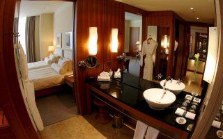 Η πληρότητα των ξενοδοχείων ήταν μειωμένη κατά 3,8%.