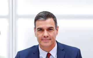 Ο υπηρεσιακός πρωθυπουργός της Ισπανίας Πέδρο Σάντσεθ.